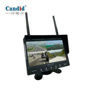7 inch wireless digital monitor with wireless Rear View Camera System Kit Car Reversing Aid