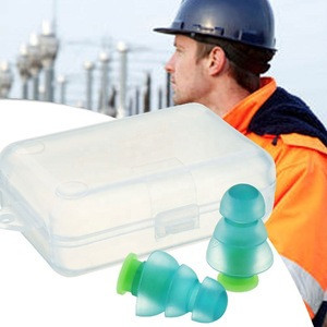 Amazon Reusable silicone gel soundproof ear plugs/ earplugs