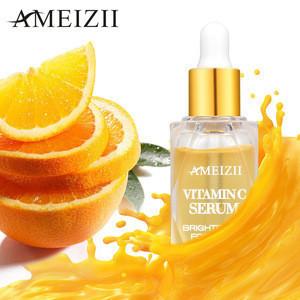 AMEIZII 2020 Vitamin C Face Serum Moisturizing Whitening Anti Aging Organic Natural Plant Extract Facial Essence Skincare Serum