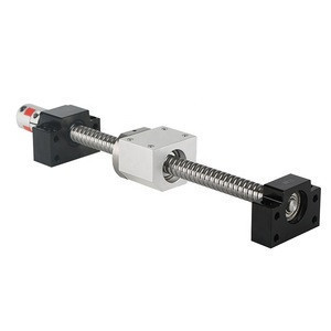 Ballscrew G1204 Ball Screw with nut housing and coupling