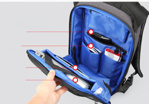 Big Capacity Backpack with Anti-theft pocket & USB Charging Port stroller belt