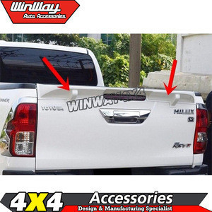 Car Roof Spoiler for Hilux Revo 2015 onwards