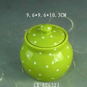 China antique Porcelain dry fruit jar Custom Home Kitchen Storage Ceramic Dry fruit Jars with Lids ceramic spice jar