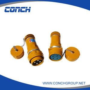 China smart explosion proof plug and socket , industrial plug and socket with 200A 4 pin