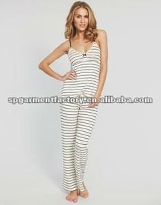 Coastal stripes pajamas pant