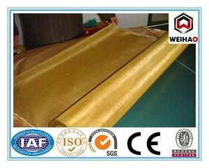 Copper bronze screen wire mesh factory