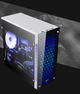 Customized computer case mid tower case customized computer frame processing