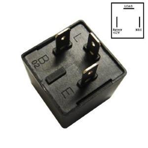 Electronic Flasher Car 3-Pin CF13 CF13 JL-02 EP34 LED Flasher Relay Fix for Turn Signal LED Light Hyper Flash