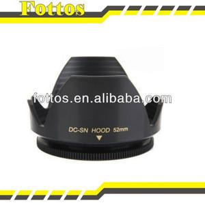 Flower Petal Camera 52mm Lens Hood for Nikon Canon Sony 52mm Lens Camera