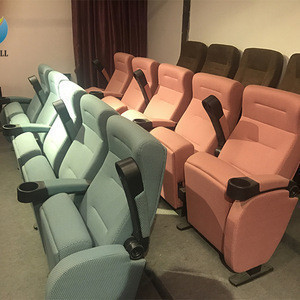Folding cinema movie theaters chair