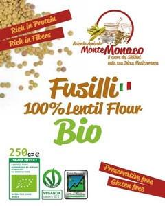 Fusilli - Pasta of Lentils Flour