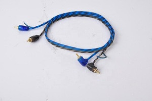 High Professional RCA cable with ground wire for car amplifier