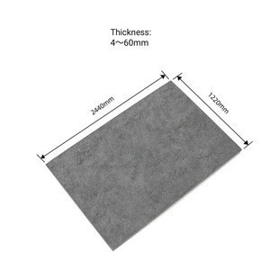 High Quality Fireproof 1220*2440mm Fiber Cement Board 4 to 60mm for Ceiling