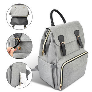 Multifunction UV Light Mummy Diaper Bag with Fresh-Keeping Compartment Mommy Bag