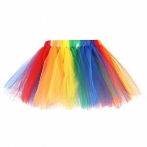 New design baby girls mesh skirt,wholesales china manufacture tutu multicolor skirt,wholesale girls puffy girl pettiskirt