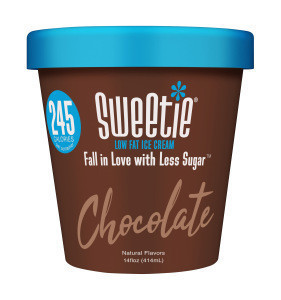 No artificial additives  Sweetie Chocolate Lowfat Ice Cream