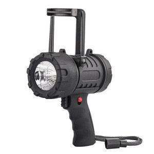 Powerful Heavy Duty  Sky Beam Searchlight Lighting Marine Handheld led Rechargeable Portable Spotlight
