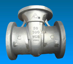 Renyi Stainless steel CF3/CF8M/C12A cast steel gate valve body