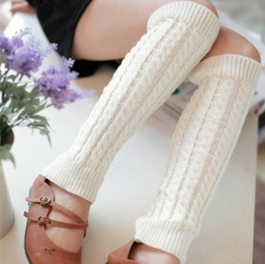Spandex / cotton hot selling factory price adult wool leg warmer