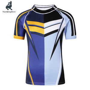 Top man adults Football Game T-shirt Full Sublimation rugby shirts American Football Wear