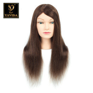 Wholesale mannequin head with human hair felmale