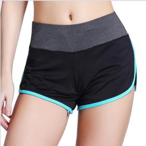 Yiwu sportswear manufacturer wholesale customized running ladies sports shorts