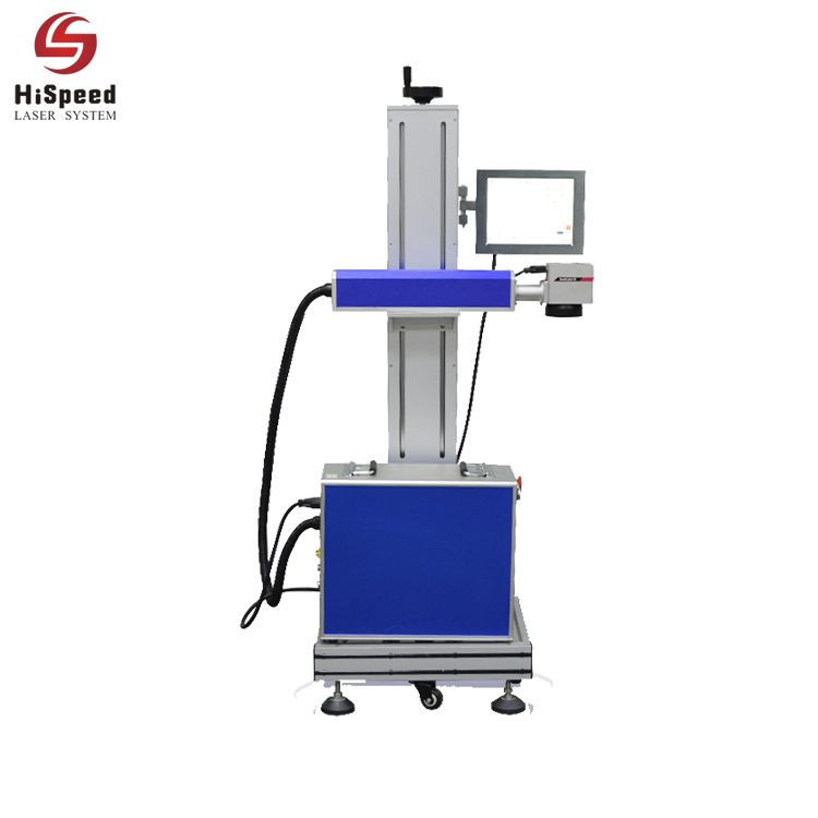 Co2 Flying Online Laser Marking Machine For NonMetal Materials