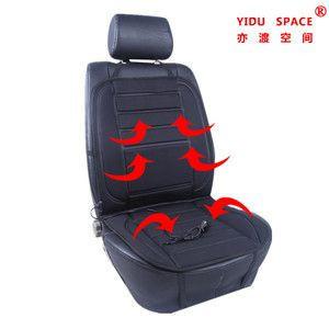 Car Decoration Car Interiorcar Accessory Universal 12V Black Heating Cushion Pad Winter Auto Heated Car Seat Cover