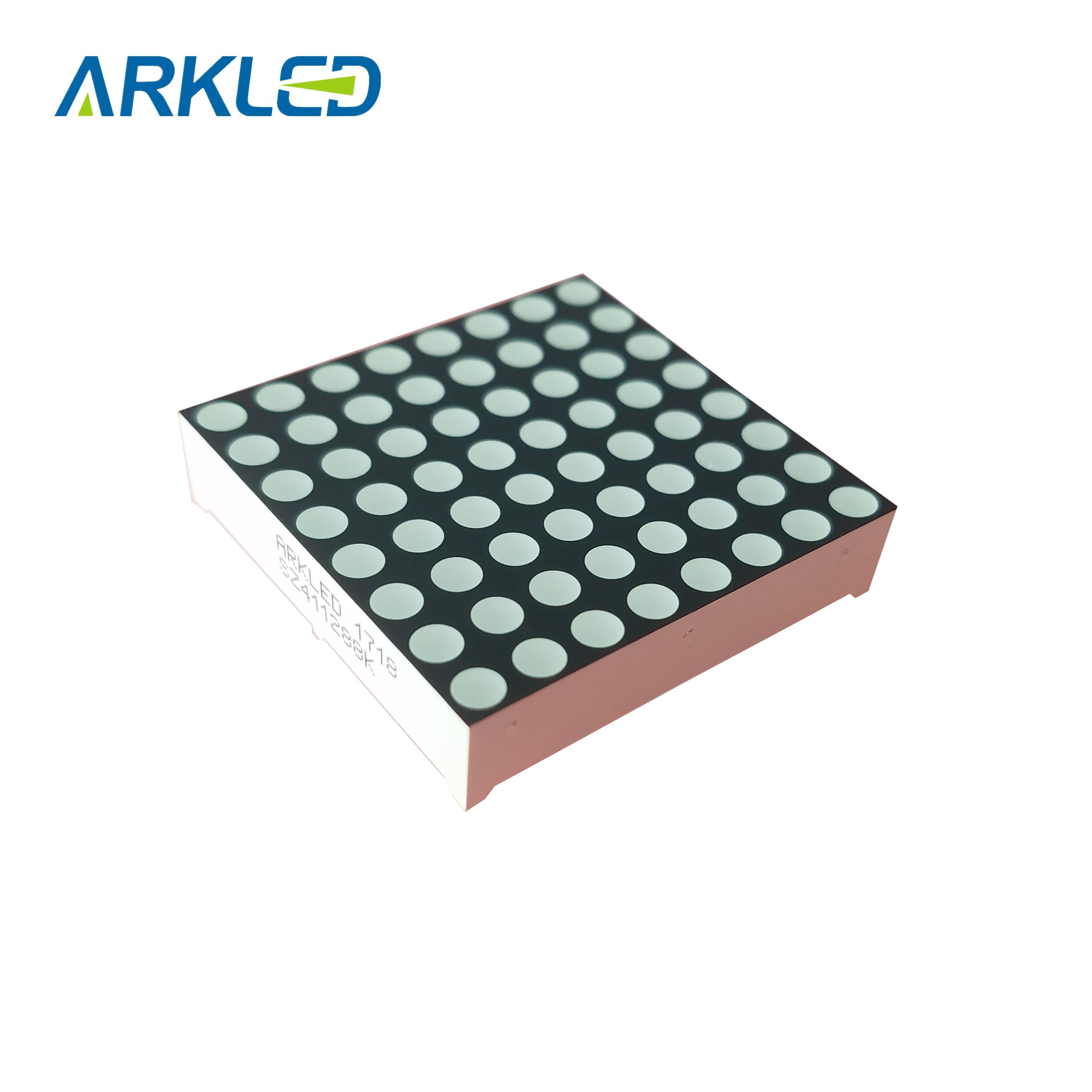 1.2 inch Dot Matrix 8*8 Common Anode led digital display