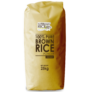 100% Pure Brown Rice Instant Powder in 25 Kg
