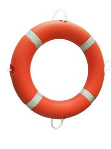 2.5kg orange polyethylene life buoy for ship