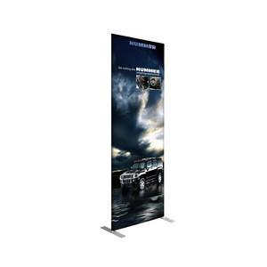 B0010 Quality Custom Fabric  Promotion Outdoor Display Advertising Pop Roll Up Banner Stand