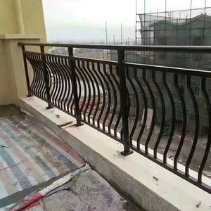 Building balcony stairs aluminum alloy railings China factory wholesale
