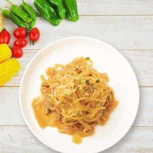 """Cheap delicious easy Stir-fried sweet and soy sauce """"Sukiyaki style"""" konjac Healthy diet noodles"""