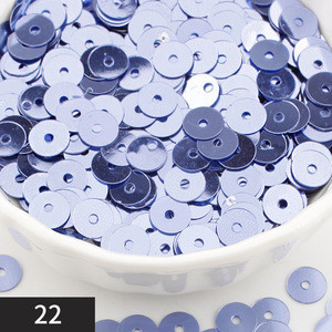 DIY garment accessories PVC  bottom sequins circle shape round hole decorative sequins  for clothing