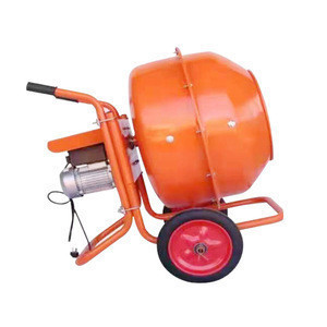 Electric manual operation poultry feed mixer handles stucco, mortar and concrete