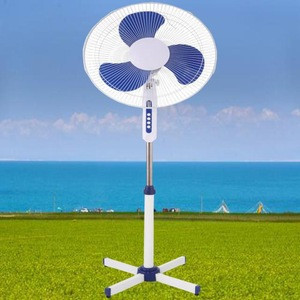 "Energy saving good quality 16"" big stand fan with automatic oscillation"