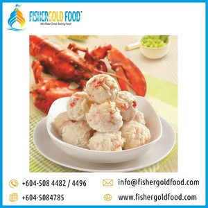 Frozen Lobster Ball Halal Food from Malaysia