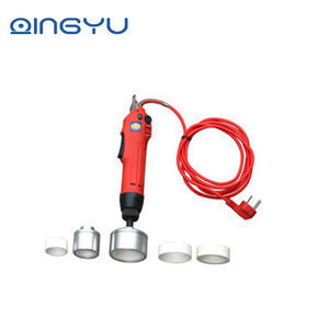 Hand-held Electric Small Manual Bottle Capping Machine For Plastic Caps manual plastic bottle capping machine