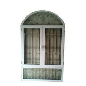 High security design aluminum casement window thermal break aluminum glass window with burglar bar