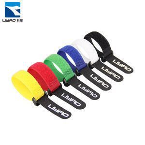 Hot Selling Heavy Duty Soft Sport Fitness Medical Adjustable Hook And Loop Straps Cable Tie For Arm Bands