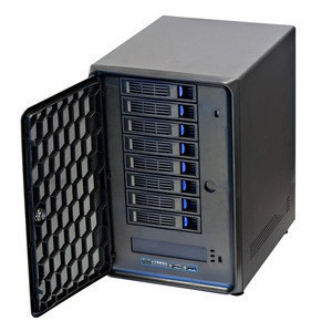 Hot swap nas storage server servidor case rackmount 8 bay sas storage