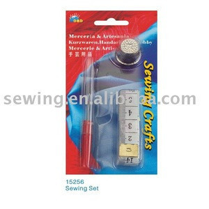 Lot Sewing Tools Tape Measure&Seam ripper 150CM soft tape thimble Sewing tools Set