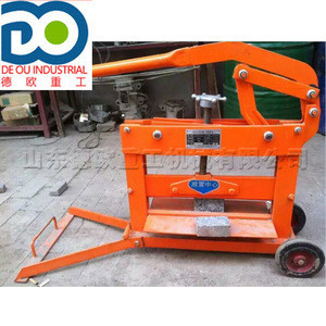 Manual brick cutter factory direct sales work efficient high quality  low price Trail brick cutting machine