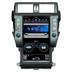 Navihua Tesla Style Vertical Android Screen Car DVD Player Pioneer Auto Stereo Radio Multimedia GPS For Toyota Prado 2014-2017