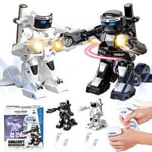 New arrival plastic  intelligent 2.4G Remote Control kinect Kids Toys Fighting Battle Model Robot