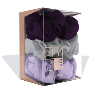 Pure Silk Head Rope Rubber Band Accessories Soft Care Luxurious Satin Scrunchie