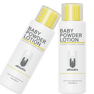 Quick absorption of excess skin moisture baby Durable water lubrication powder lotion