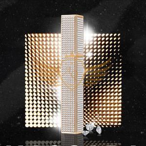 Sale mascara tube with diamond 4D silk fiber eyelashes mascara