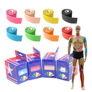 Sports Equipment Kinesiology tape for protection/ Safety/ Strengthen or Release Muscle in baseball or softball sports